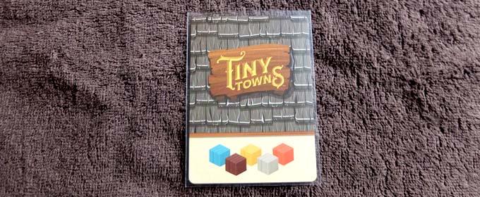 タイニータウンの小さいカードに合うスリーブ