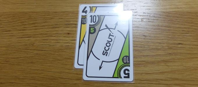 SCOUT!(スカウト)のカードサイズに合うスリーブ