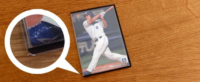 カードローダー11に入れた写真|プロ野球チップス