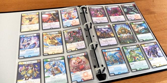 デュエマのカードを収納|やのまんコレクションカードバインダー