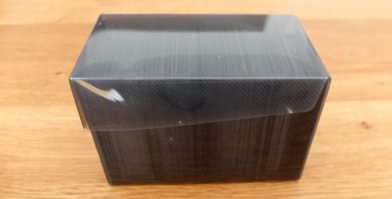 プラスチック製デッキケース