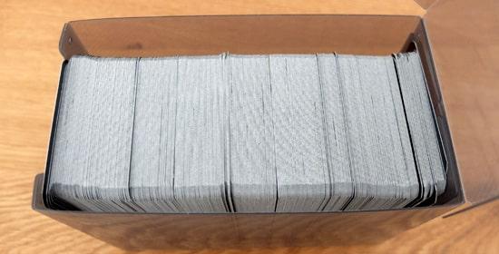 カードのみの収納枚数|アクラス カードケースW LARGE