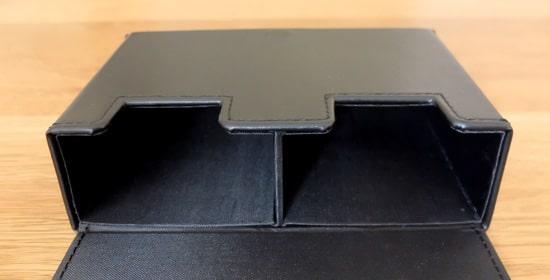 内側|アクラス(Aclass)合皮製スリムデッキケース