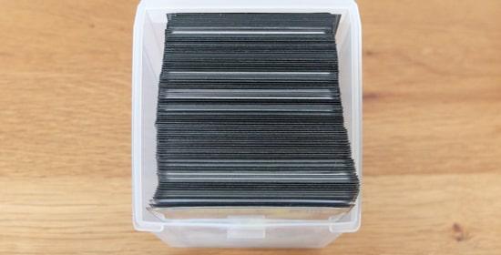 収納枚数|キャンドゥのトレーディングカードボックスS