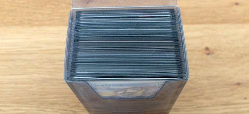 収納枚数|キャンドゥ トレーディングカードBOX