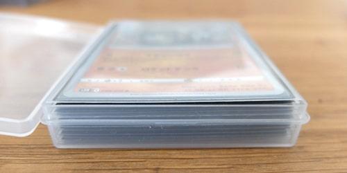 収納枚数|キャンドゥ トレーディングカードケース 2P