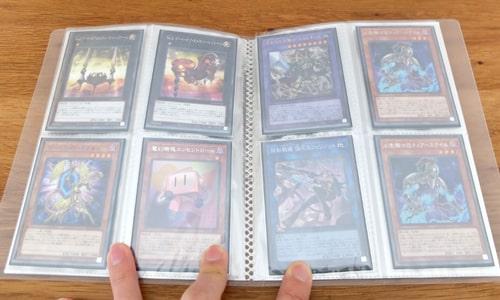 遊戯王カードを収納|ダイソー トレーディングカードホルダー