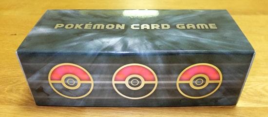 ベーシック ブラック|ポケモンカードゲーム ロングカードボックス