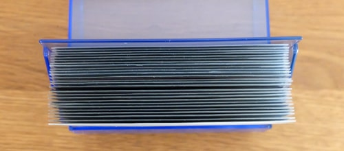収納枚数|ダイソー トレーディングカードケース