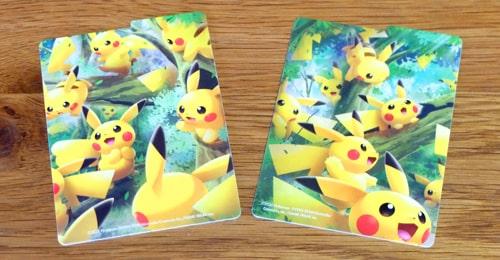 仕切り板2枚|ポケモンカードゲーム デッキケース ピカチュウの森
