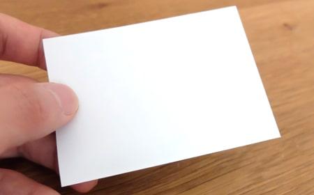 透け具合をチェック|ハイパーマットスリーブ